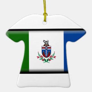 Bandera del Yukón (Canadá) Ornamento Para Reyes Magos