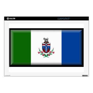 Bandera del Yukón (Canadá) Portátil Skin