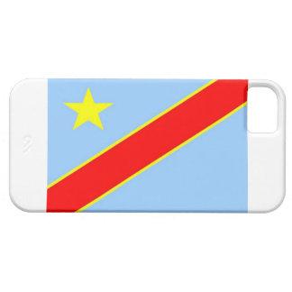 Bandera Democratic de Congo iPhone 5 Cárcasa
