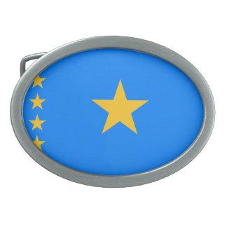 Bandera Democratic del República del Congo Hebilla De Cinturón