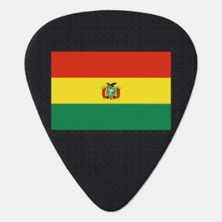 Bandera desapasible de Bolivia Plumilla De Guitarra