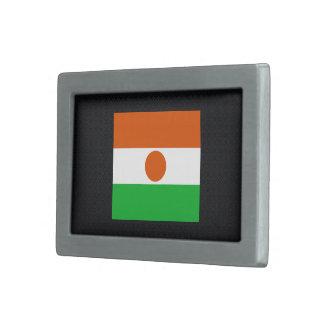 Bandera desapasible de Niger Hebilla Cinturón Rectangular