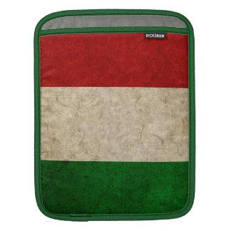 Bandera descolorada de Italia Fundas Para iPads