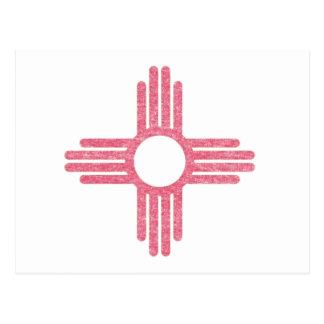 Bandera descolorada del estado postal