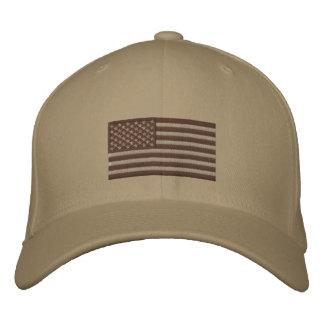 Bandera - desierto sometido gorra bordada