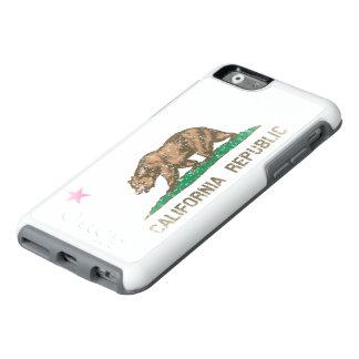Bandera desteñida vintage fresca de la república funda otterbox para iPhone 6/6s