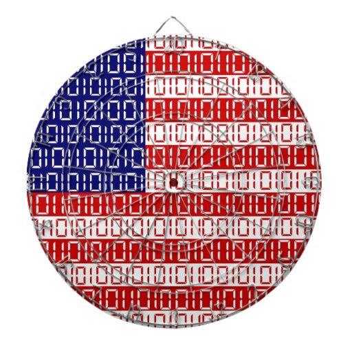 bandera digital (los E.E.U.U.) Tablero De Dardos