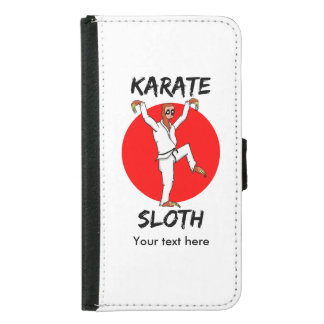 Bandera divertida de Japón del karate de la pereza