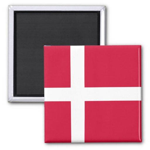 Bandera DK de Dinamarca Iman Para Frigorífico