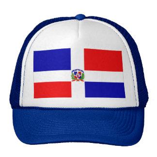 bandera dominicana gorra