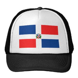 Bandera dominicana gorro de camionero
