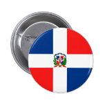 Bandera dominicana pin