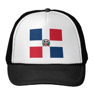 Bandera dominicana por todo diseño gorro