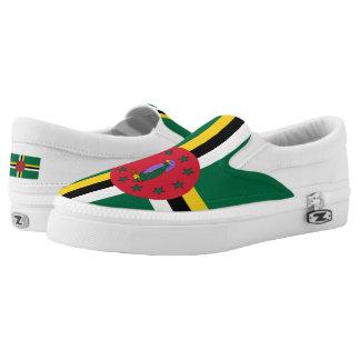 Bandera dominicana zapatillas