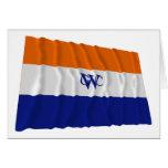 Bandera Dutch West la India Company Felicitación