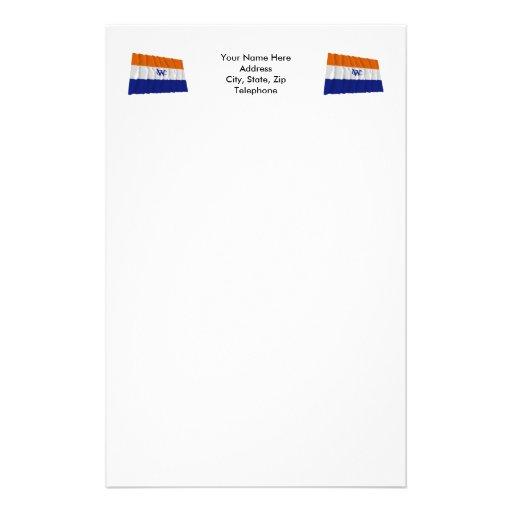 Bandera Dutch West la India Company Papeleria Personalizada