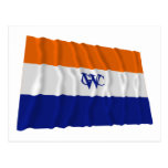 Bandera Dutch West la India Company Postal