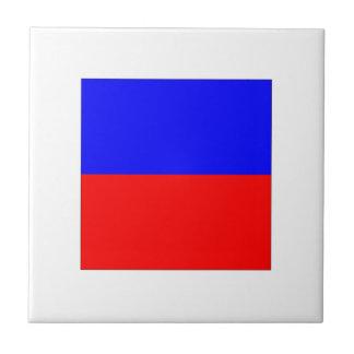 Bandera E del ICS Azulejo Cuadrado Pequeño