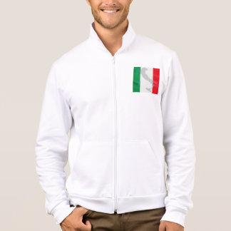 bandera e Italia italianas Chamarra