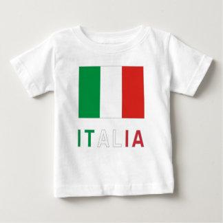 Bandera e Italia italianas Playera