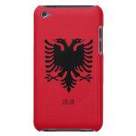 Bandera Eagle de la República de Albania en el tac iPod Touch Cárcasas