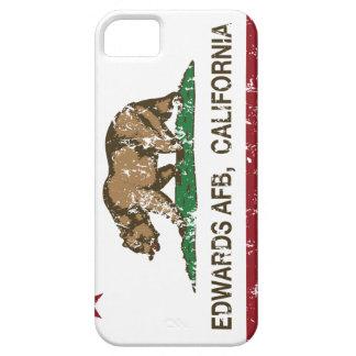 Bandera Edwards AFB de la república de California iPhone 5 Case-Mate Coberturas