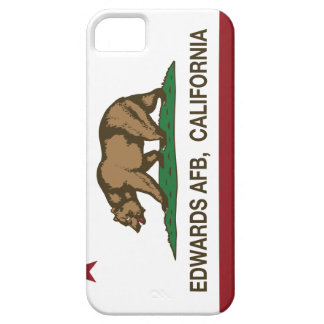Bandera Edwards AFB de la república de California iPhone 5 Carcasa