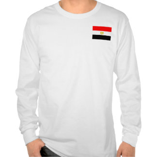 Bandera egipcia camiseta