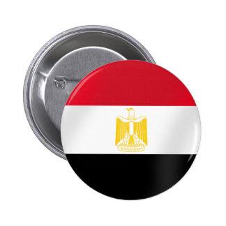 Bandera egipcia de las camisetas y de los regalos  pin