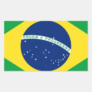 Bandera el Brasil. República Federativa hace el Rectangular Altavoces
