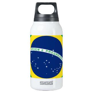 Bandera el Brasil. República Federativa hace el