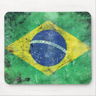 Bandera el Brasil Alfombrilla De Ratón