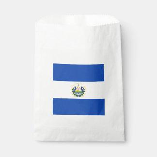 Bandera: El Salvador Bolsa De Papel