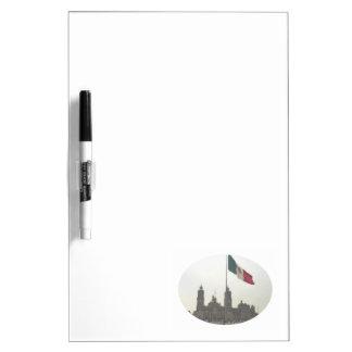 Bandera en el Zocalo DF Dry-Erase Boards