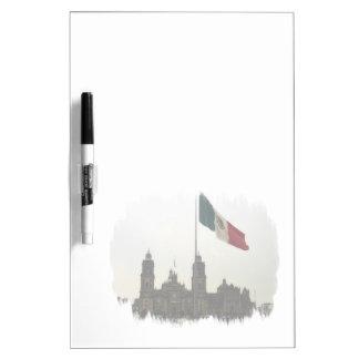 Bandera en el Zocalo DF Dry Erase Board