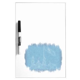 Bandera en el Zocalo Dry-Erase Whiteboards