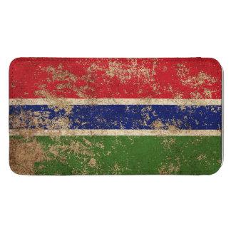 Bandera envejecida áspera de gambiano del vintage bolsillo para galaxy s5
