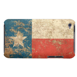 Bandera envejecida áspera de Tejas del vintage iPod Case-Mate Coberturas