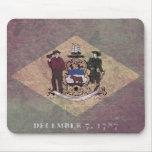 Bandera envejecida de Delaware