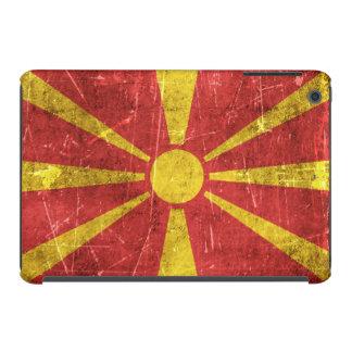 Bandera envejecida y rasguñada del vintage de funda de iPad mini
