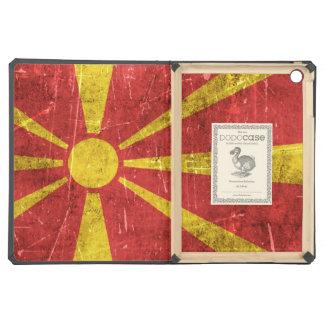 Bandera envejecida y rasguñada del vintage de