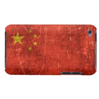 Bandera envejecida y rasguñada del vintage de iPod Case-Mate cárcasa