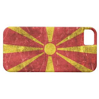 Bandera envejecida y rasguñada del vintage de iPhone 5 coberturas