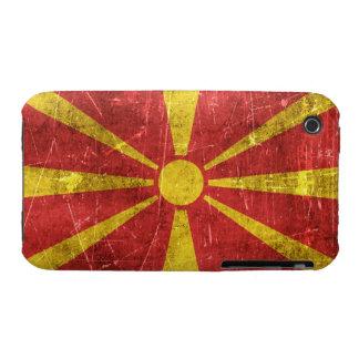 Bandera envejecida y rasguñada del vintage de Case-Mate iPhone 3 funda