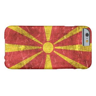 Bandera envejecida y rasguñada del vintage de funda de iPhone 6 barely there