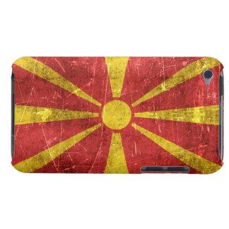 Bandera envejecida y rasguñada del vintage de Case-Mate iPod touch fundas