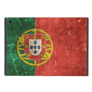 Bandera envejecida y rasguñada del vintage de iPad mini funda