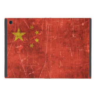 Bandera envejecida y rasguñada del vintage de iPad mini cobertura