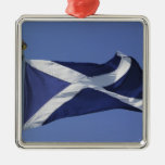 Bandera escocesa adornos