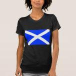 Bandera escocesa camisetas